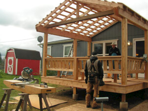 How Much Does Porch Building Cost