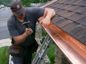 How Much Does Copper Gutter Repair Cost
