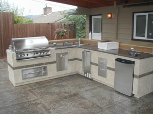 cost of outdoor kitchen construction estimates prices contractors