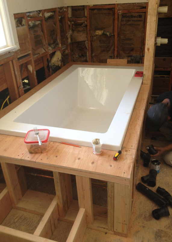 Bathtub installation costs estimates prices contractors for How much does it cost to install a bathtub liner