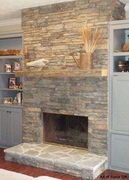 Cost To Install A Stone Fireplace Estimates Prices